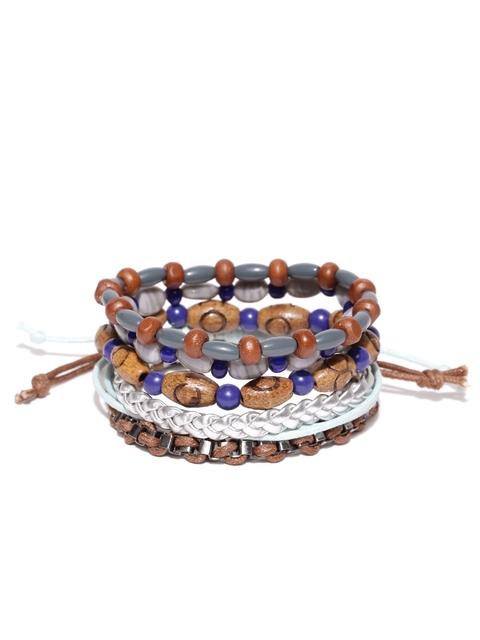 Blueberry Men Set of 5 Bracelets