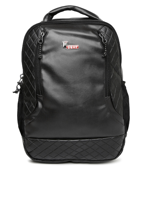 F Gear Unisex Black Solid Samurai Backpack