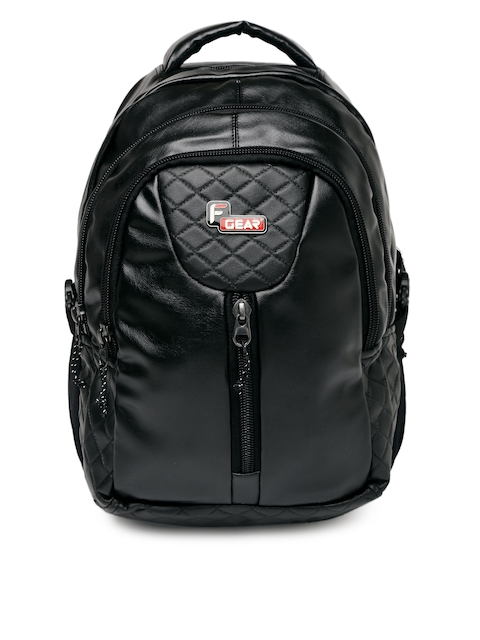 F Gear Unisex Black Solid Tycoon Backpack