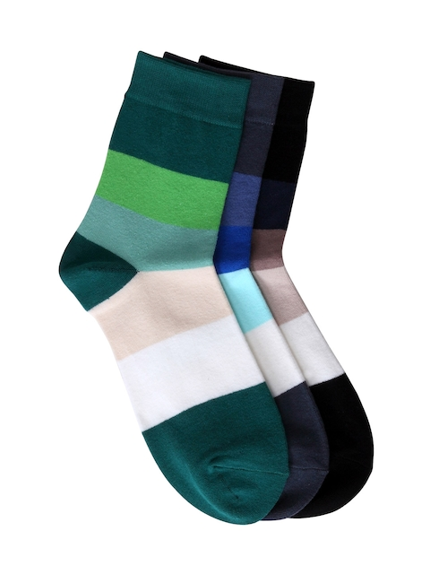 Color Fevrr Men Pack of 6 Striped Socks