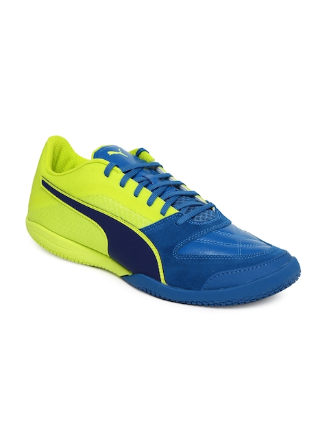Puma Men Blue Invicto II Football Shoes