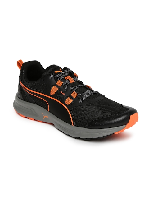 Puma Men Black Essential Trail Running Shoes