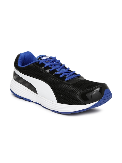 Puma Men Black Ridge Running Shoes