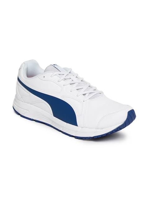 Puma Men White Axis v4 SL IDP Running Shoes