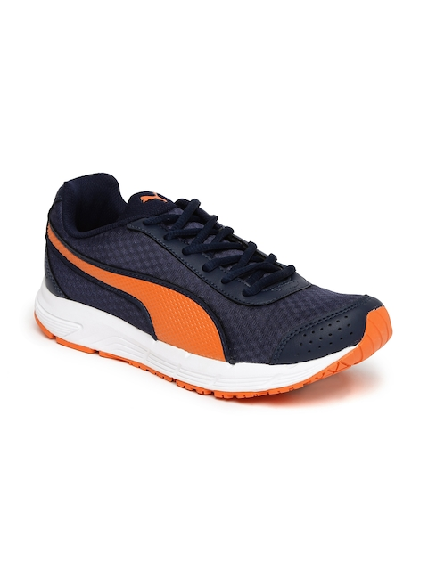 Puma Men Navy Blue Rapple Running Shoes
