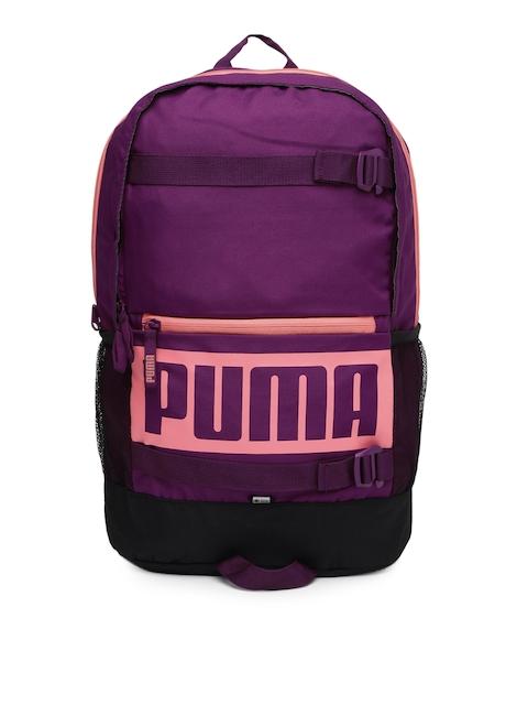 Puma Unisex Purple Deck Backpack