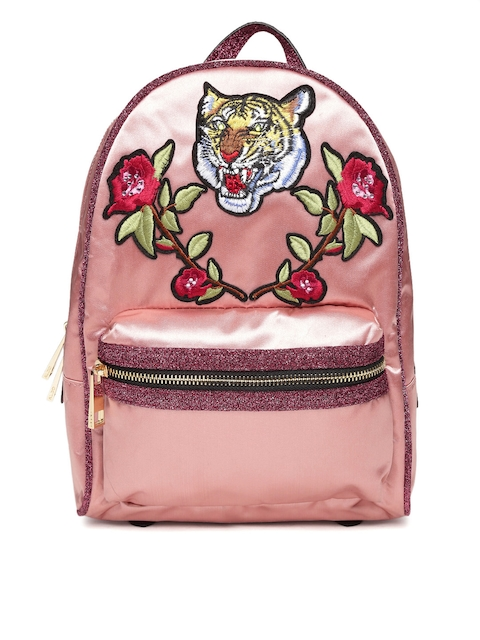 ALDO Women Pink Applique Backpack