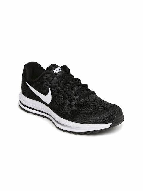 Nike Women Black WMNS AIR ZOOM VOMERO 12 Running Shoes