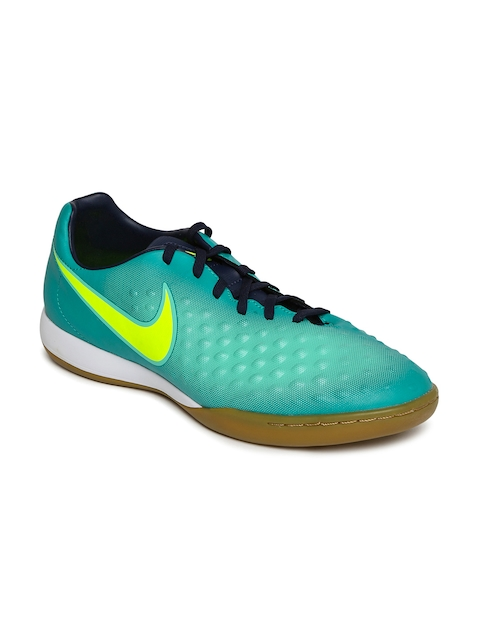 Nike Men Green MAGISTAX ONDA II IC Football Shoes