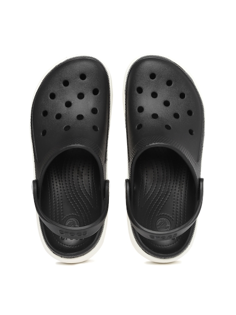 Crocs Unisex Black Duet Sport Clogs