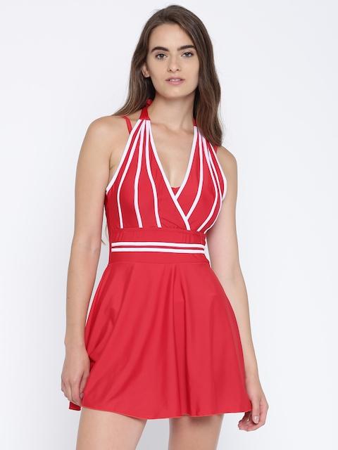 Heart 2 Heart Red Swimwear SW11129TRINR