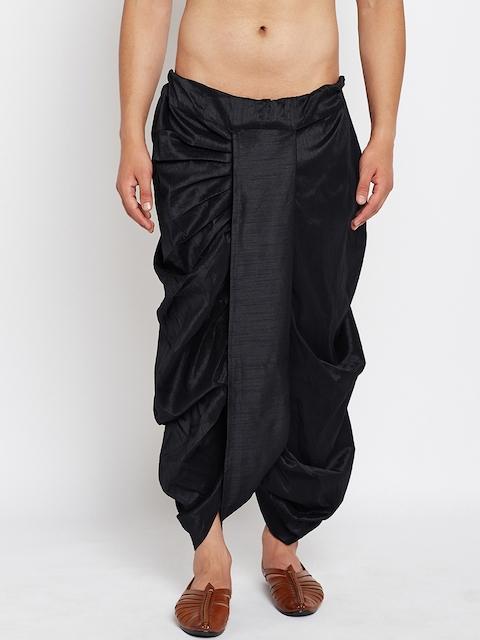 SOJANYA Black Dhoti Pants