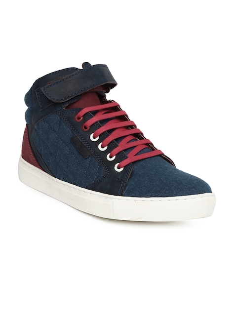 Ruosh Men Navy & Red Publico4A Sneakers