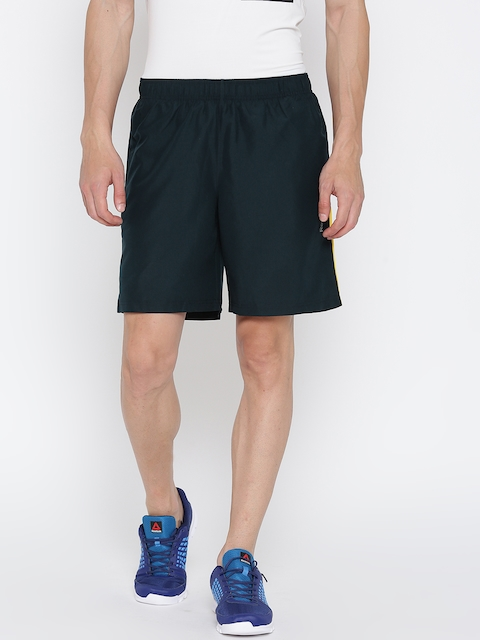 Reebok Men Navy Core Solid Sports Shorts  available at myntra for Rs.599