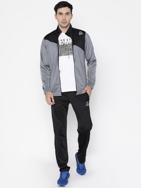 Reebok Grey & Black TS TRICOT Tracksuit