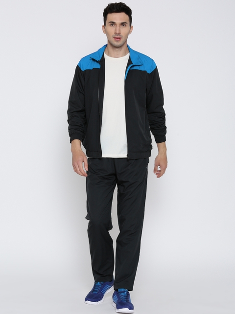Reebok Charcoal Grey Athletic Tracksuit