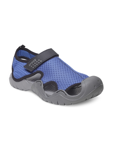 Crocs Men Blue Clogs