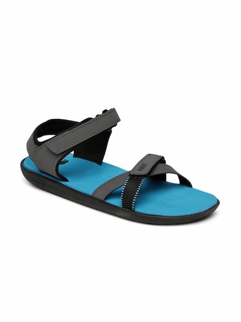 Puma Unisex Grey Pebble Sports Sandals