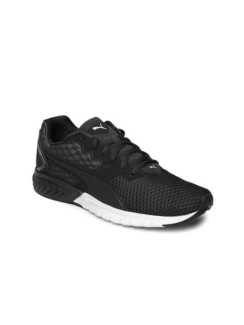 Puma Women Black IGNITE Dual Mesh Running Shoes