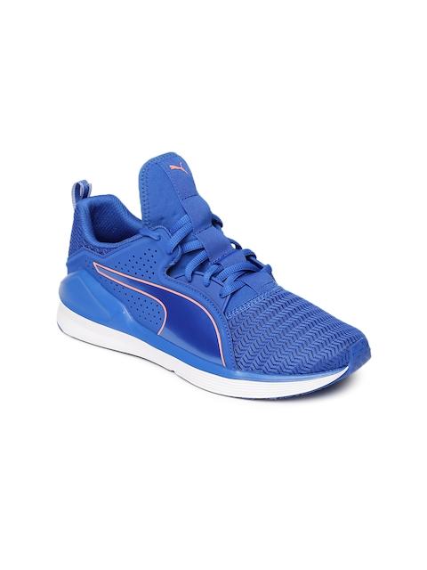 Puma Women Blue Fierce Lace Core Training Shoes