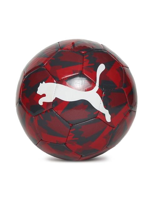 Puma Unisex Red Arsenal Camo Printed Football