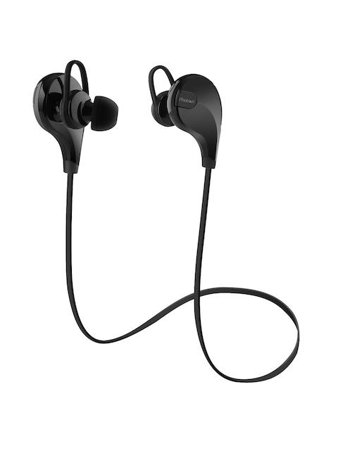 Photron Black Bluetooth Wireless Headphones with Mic PHT-QY7