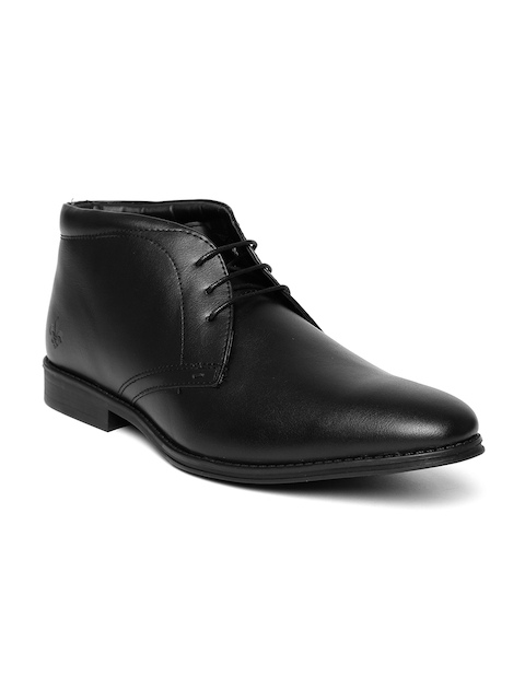 Bond Street By Red Tape Men Black Semiformal Shoes