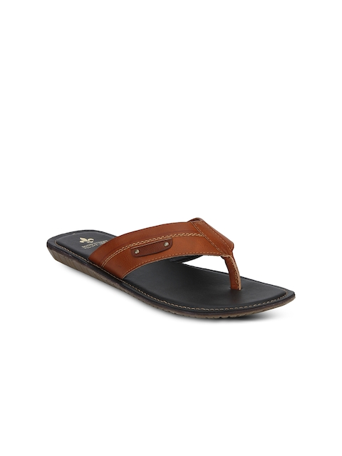 Red Tape Men Tan Brown Sandals