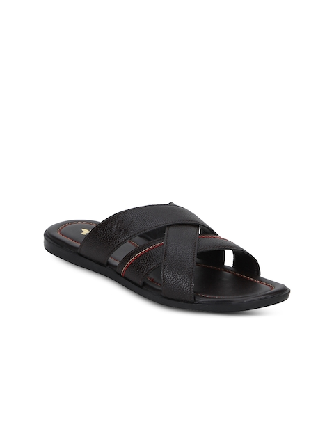 Red Tape Men Brown Sandals