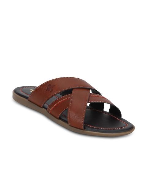 Red Tape Men Tan Comfort Sandals