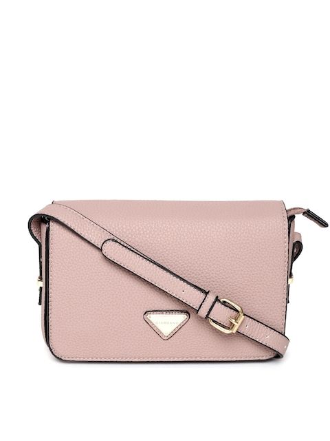 GIORDANO Mauve Solid Sling Bag  available at myntra for Rs.1122