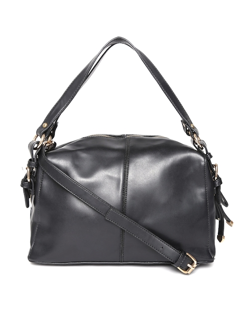GIORDANO Black Solid Handheld Bag with Sling Strap  available at myntra for Rs.1475