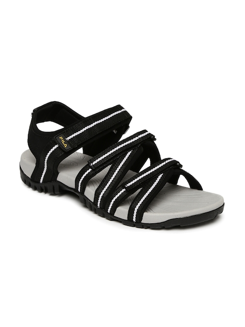 FILA Men Black & Grey GABOR III Sports Sandals  available at myntra for Rs.839
