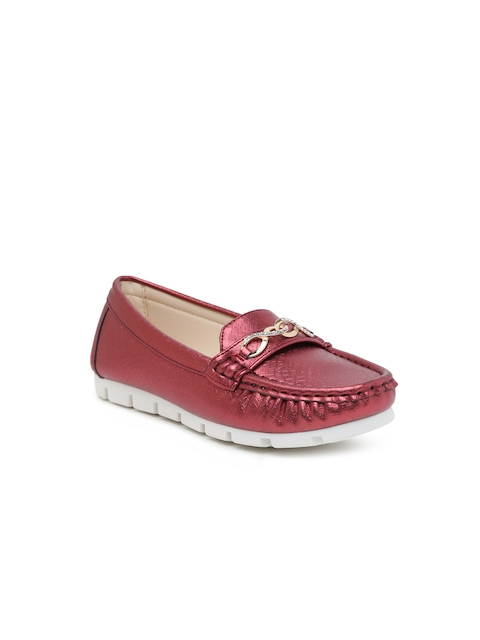 Kittens Girls Red Loafers