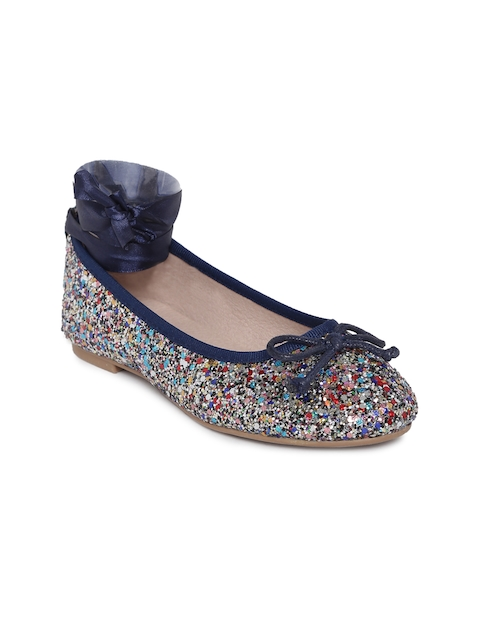 Kittens Girls Multicoloured Shimmery Ballerinas