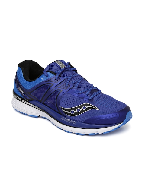 saucony Men Blue Triumph ISO3 Running Shoes