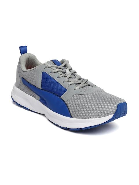 Puma Men Grey Deng Running Shoes