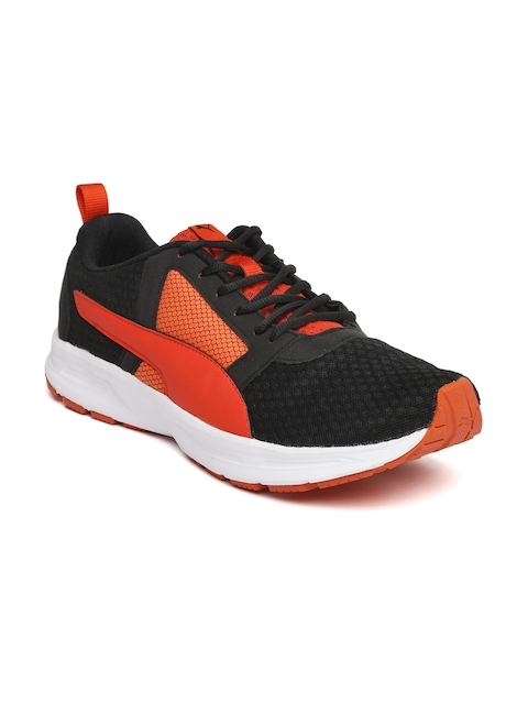 Puma Men Black Deng Running Shoes