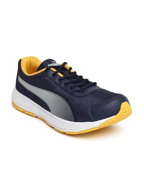 Puma Men Navy Blue Aeden Running Shoes