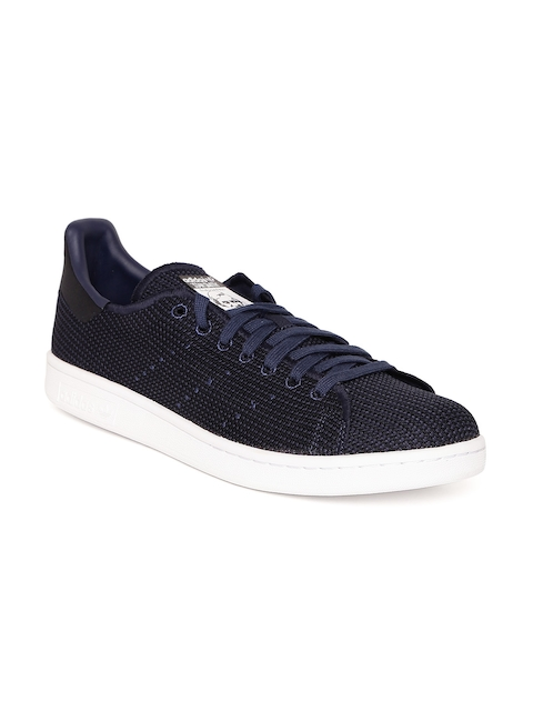 Adidas Originals Men Navy STAN SMITH Sneakers  available at myntra for Rs.3799