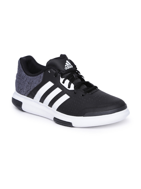Adidas Men Black & Grey FUTURE Basketball Shoes