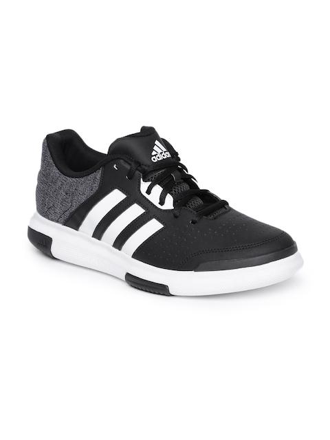 ADIDAS Men Black & Grey FUTURE Basketball Shoes