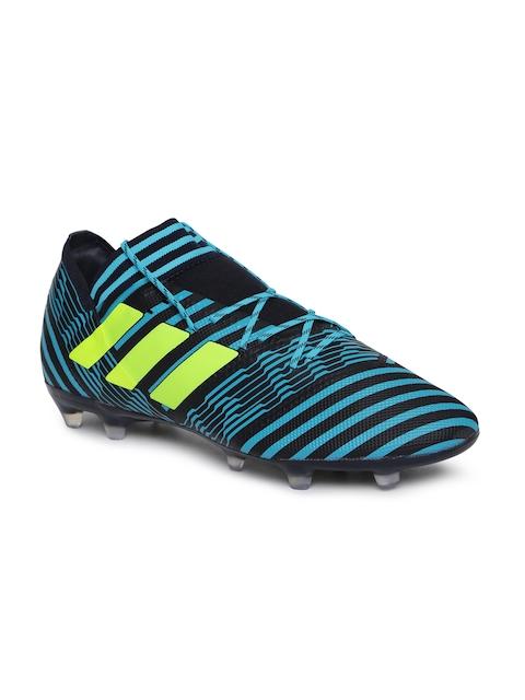 Adidas Men Blue NEMEZIZ 17.2 FG Football Shoes