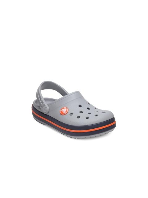 Crocs Boys Grey Clogs
