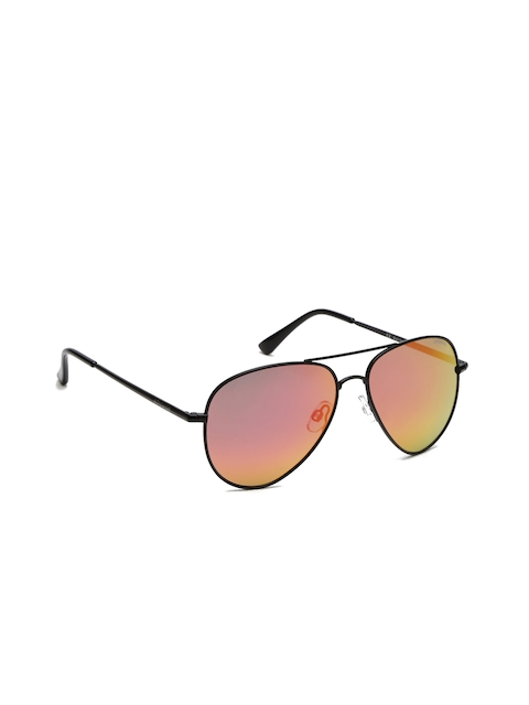Polaroid Men Mirrored Aviator Sunglasses P4139