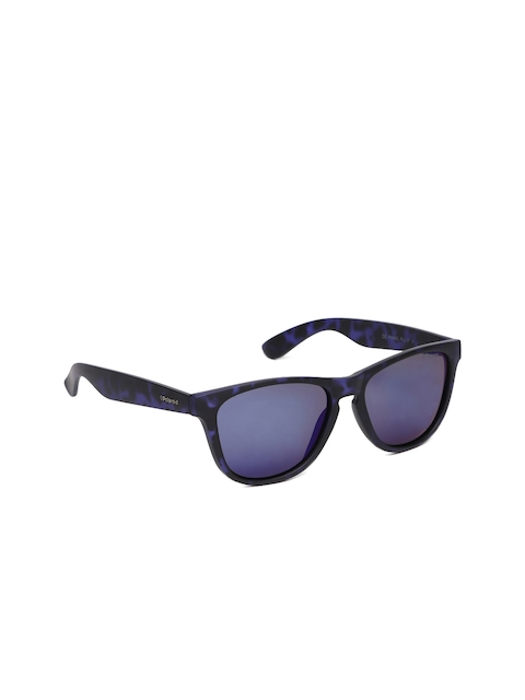 Polaroid Unisex Mirrored Square Sunglasses P8443 FLL 55JY