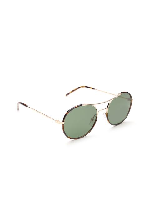 Polaroid Unisex Polarised Round Sunglasses 1021/S DDB 55RC