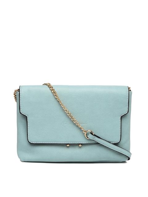 Mast & Harbour Blue Solid Sling Bag