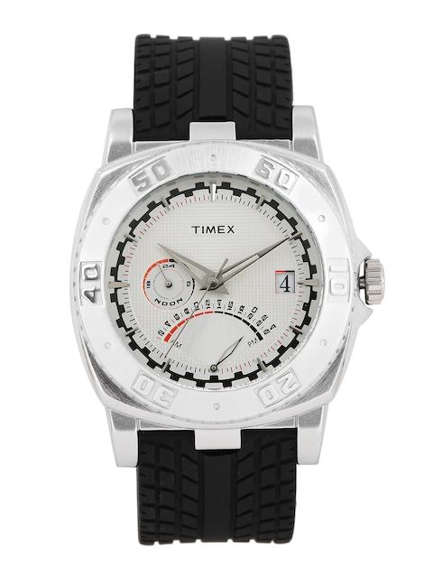 Timex Men White Multi-Function Analogue Watch TW0EG591H