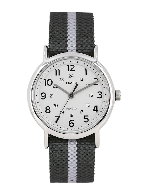 Timex Men Off-White Analogue Watch TW2P72200